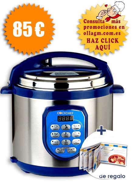 Robot de cocina cocimax cocichef olla erika - Cocinar con robot ...